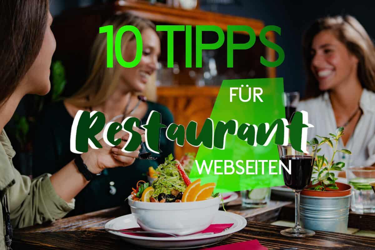 10 Tipps für Restaurant-Webseiten