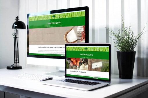 Neue Website Gartengestaltung Rosenheim