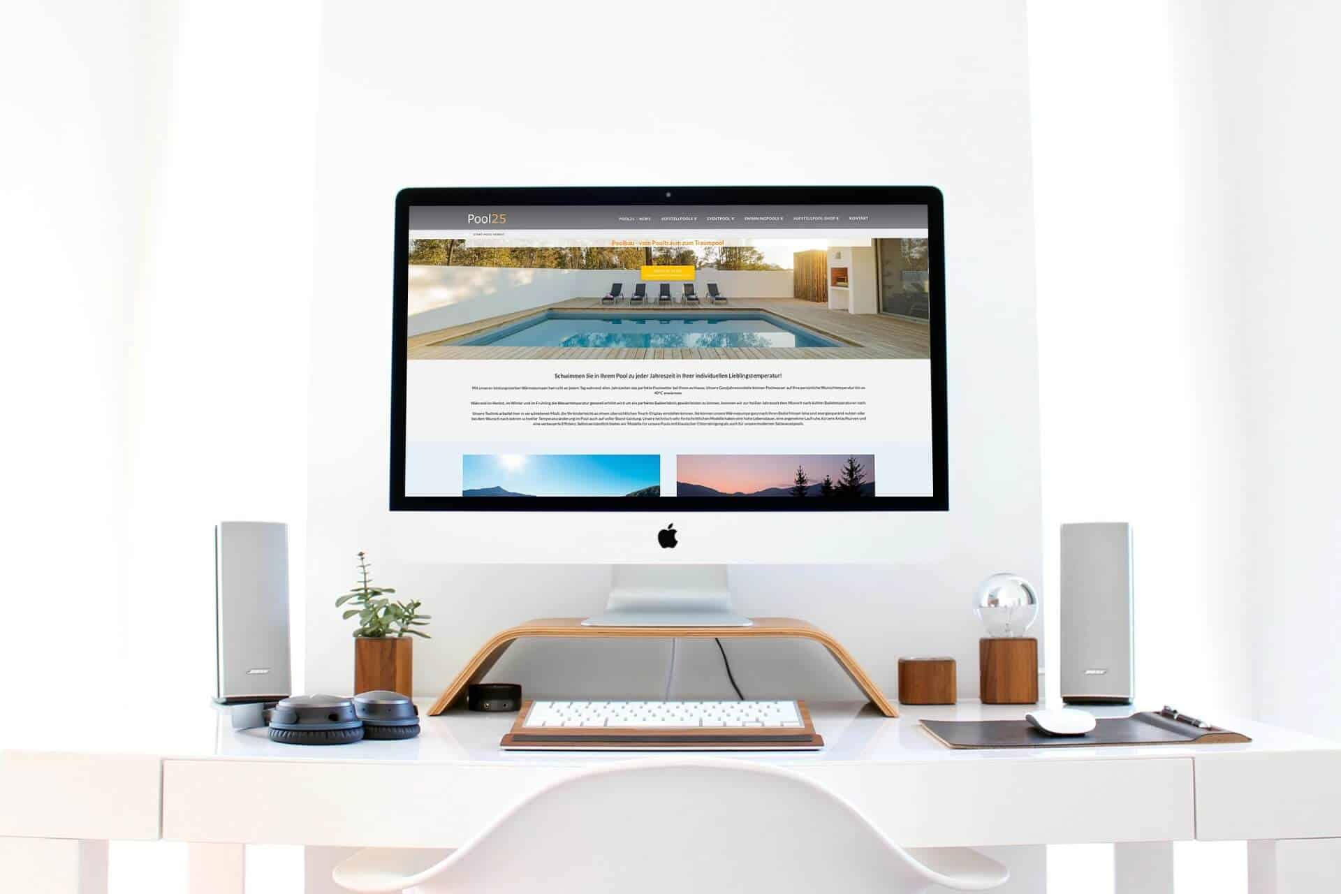 Webdesign Poolbau