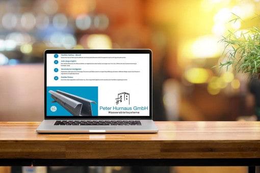 Neue Website Hurnaus Wasserableiter