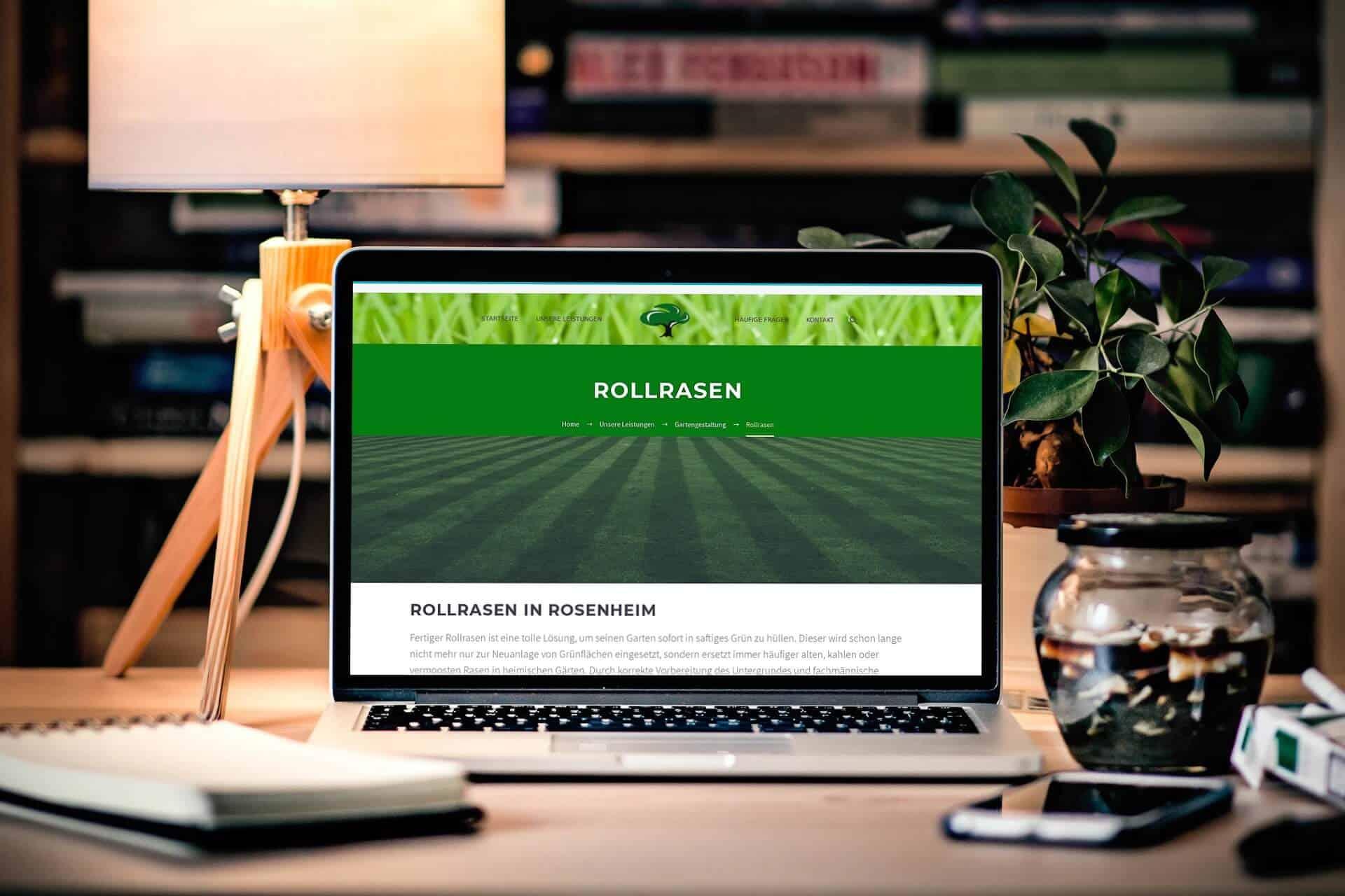 Webdesign Gärtner Garten Landschaftsbau