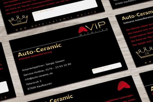 VIP Kundenkarten